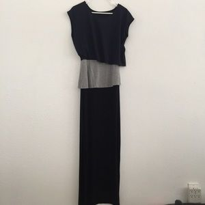 Stacy Chang Anthropologie Layered Maxi Dress XS
